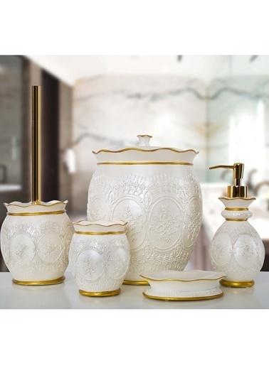 İrya Celine 5 Parça Banyo Seti Beyaz